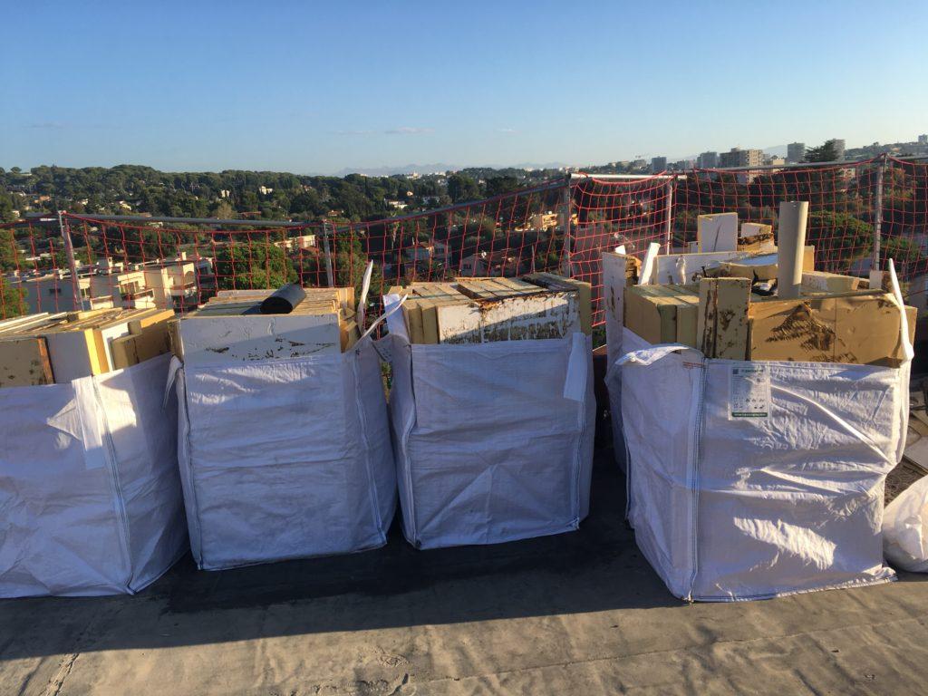 Gestion des déchets dans gros sacs - Algora environnement