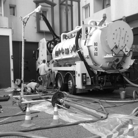 travaux pétrolier pompage et nettoyage - Algora environnement