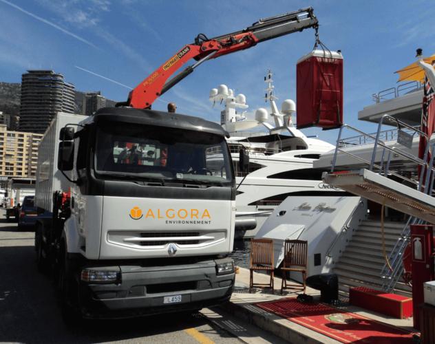 travaux pétrolier pour yachting - Algora environnement