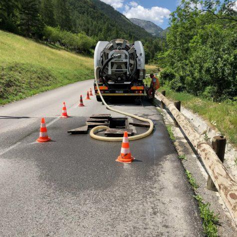 pompage égout - Algora environnement
